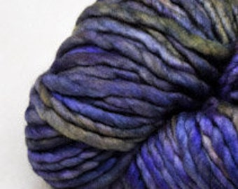 Malabrigo - Rasta - LLUVIAS - Merino Wool - Super Bulky Yarn, Thick Yarn, Quick Knit, Textured Stitches, Hand Dyed Yarn, Mulesing Free