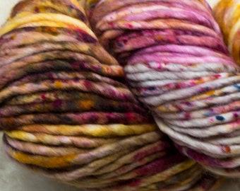 Baah Yarn Sequoia - Heart of Gold - Super Bulky - 100% Superwash Merino Wool - 85 yards - 125 grams - Artisanal Hand Dyed