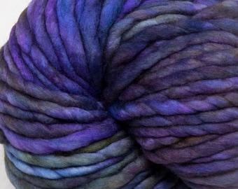 Malabrigo - Rasta - ZARZAMORA - Super Bulky Yarn, Thick Yarn, Quick Knit, Textured Stitches, Hand Dyed Yarn, Mulesing Free