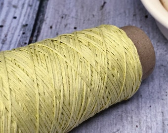 Cotton Gima - Lace Weight Yarn - Yellow
