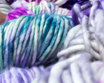 Manos del Uruguay - Franca -  Duende - Super Bulky Yarn, Thick Yarn, Quick Knit, Textured Stitches, Hand Dyed Yarn, Mulesing Free