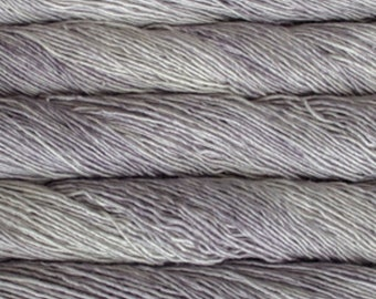 PREORDER:  Malabrigo Washted - Pearl, Worsted Yarn, Textured Stitches, Hand Dyed Yarn, Mulesing Free