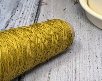 Cotton Gima - Lace Weight Yarn - Mustard