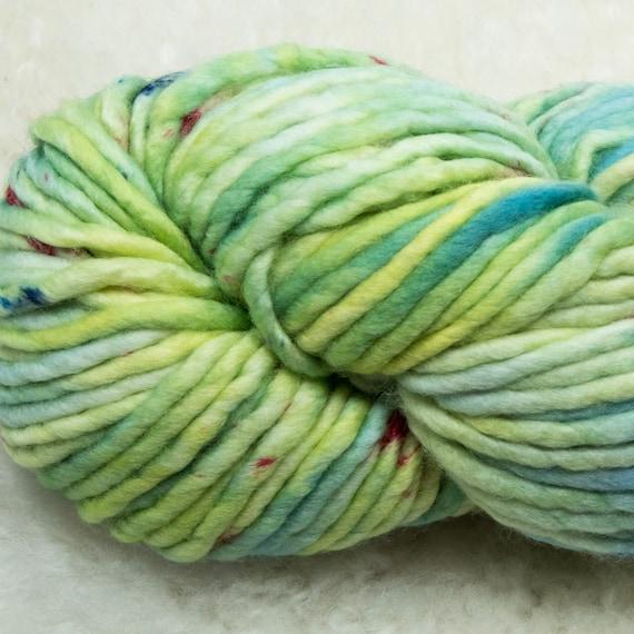 Baah Yarn Sequoia - 100% Superwash Merino Wool - 85 yards - 125 grams - Artisanal Hand Dyed - Dragon Tail