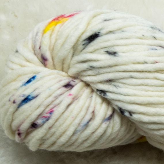 Baah Yarn Sequoia - 100% Superwash Merino Wool - 85 yards - 125 grams - Artisanal Hand Dyed - Less Is More