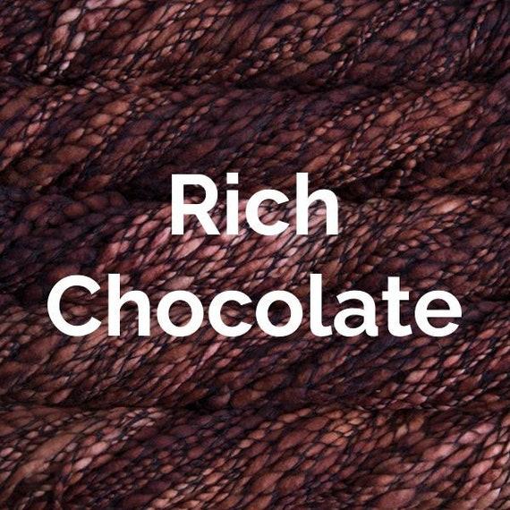 Malabrigo Caracol - Rich Chocolate