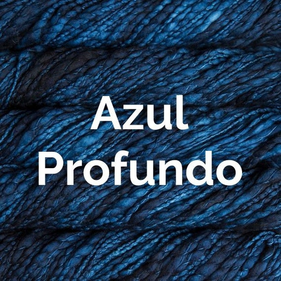 Malabrigo Caracol - Azules Profundo