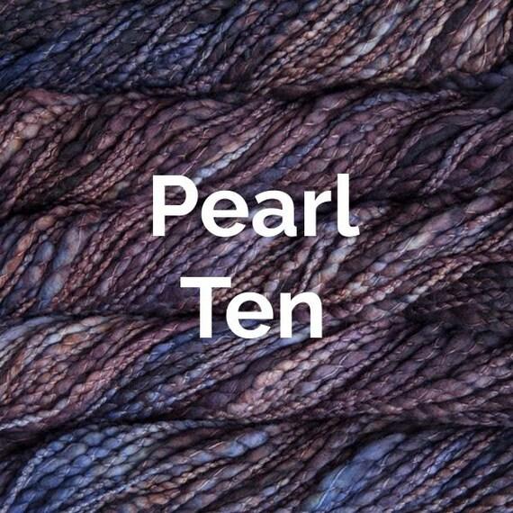 Malabrigo Caracol - Pearl Ten