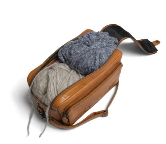 MUUD Stavanger - Handmade - Leather - Cross Body Bag - Height /16 cm – Width /26 cm