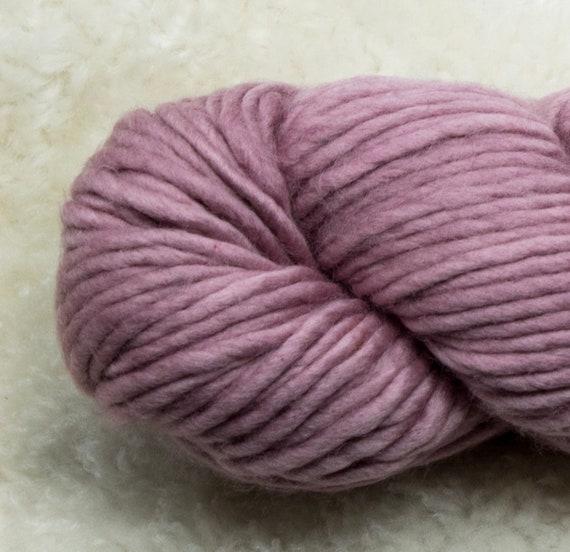 Baah Yarn Sequoia - 100% Superwash Merino Wool - 85 yards - 125 grams - Artisanal Hand Dyed - In A Blush