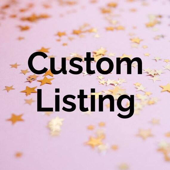 Custom Listing for CS
