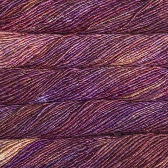 Malabrigo Mecha - ARCHANGEL, Bulky Wool Yarn, Single Ply