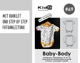 "Paper cut pattern ""baby body"" #69"