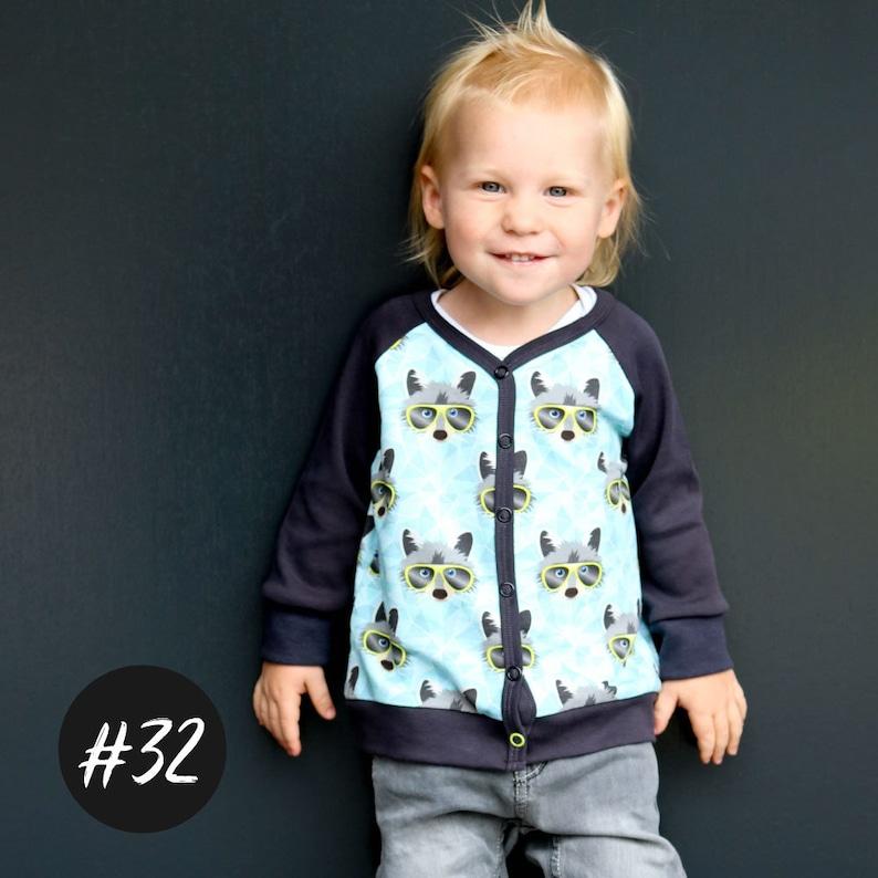 PDF Pattern /  Baby-Cardigan Jacke image 1