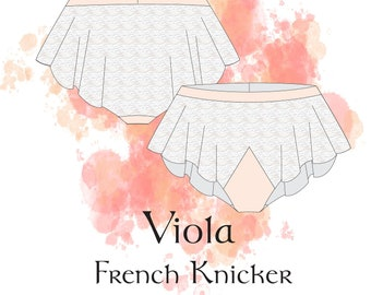 fd2cbf59ab House Morrighan Viola French Knickers 6-24 PDF Sewing Patterns