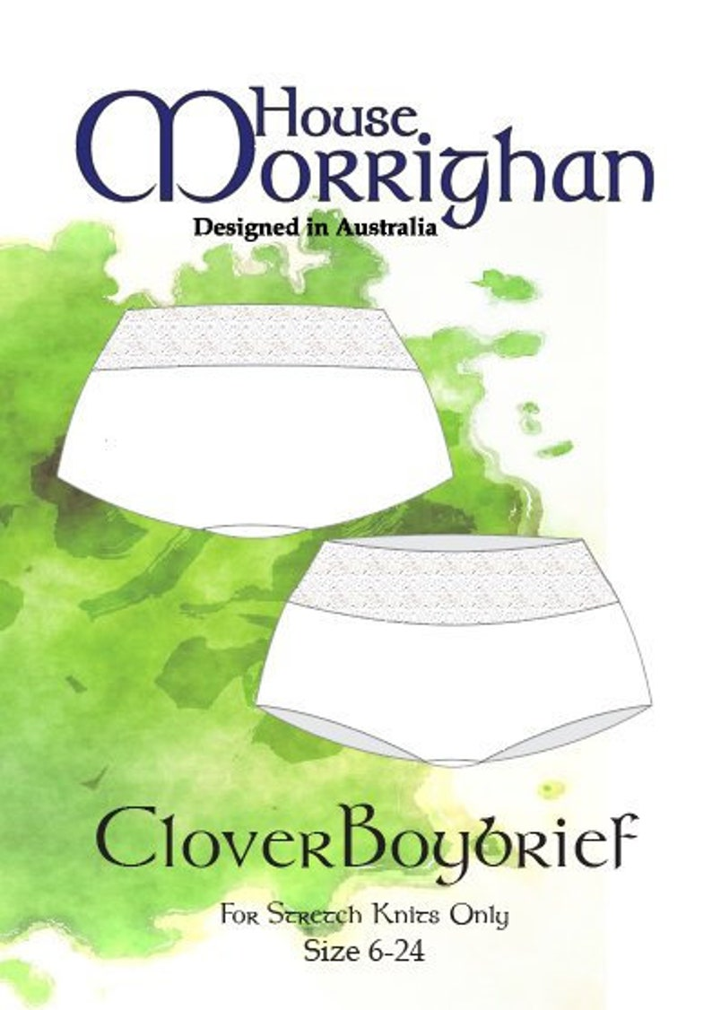 5954cd71c7 House Morrighan Clover Boybriefs 6-24 PDF Sewing Patterns