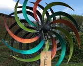 XL Windwheel Colorful Metal Wind Chime Garden Decoration