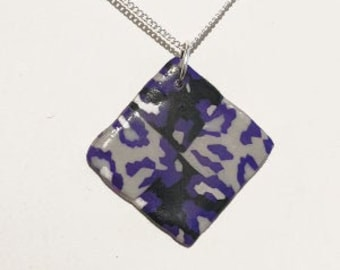 Asexual -  Leopard Print Diamond Necklace