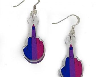 Bisexual - Pride Punk Earrings