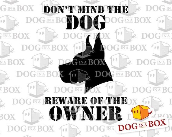Beware Of Cute Dog Stencil Durable /& Reusable Mylar Stencils