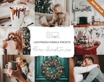 Mobile Lightroom Presets |Instagram presets, Lightroom mobile presets, lightroom presets desktop, Blogger presets, Photo filters, Christmas