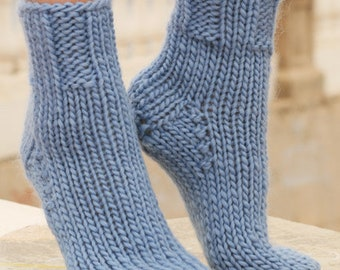 Wool socks knitted socks hand knitted