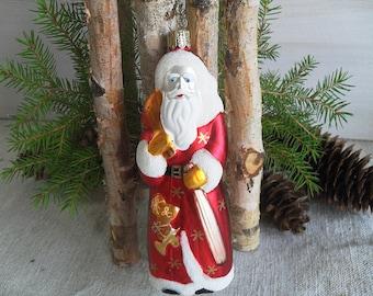Weihnachtsmann Nikolaus Christbaumschmuck Christbaumkugel