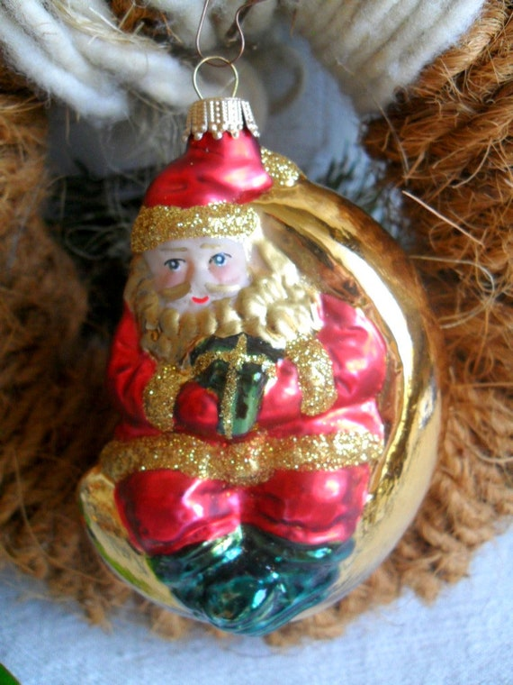Old Christmas Decorations.Old Christmas Tree Decorations Santa Claus From Lauscha Christmas Baumball Christmas Decorations