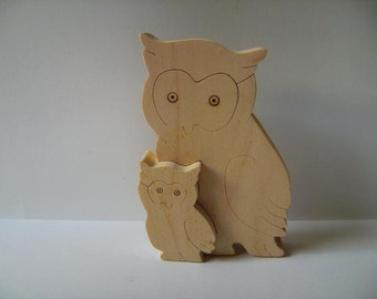 Owl with Young