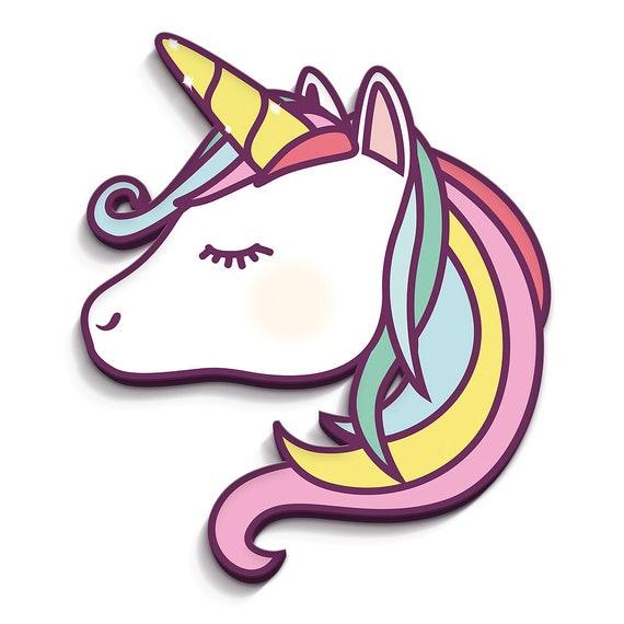 Unicorn 18 X 21 Cm 3d Kinderzimmerdeko