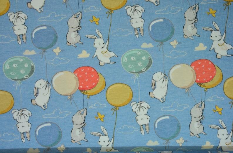 0,5 m Fr\u00e4ulein von Julie JERSEY ballooon rabbit greyrouge