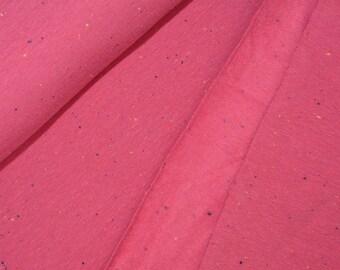 0,5 x 1,5 m COSY SWEAT Flausch/Sprenkel berry HILCO A4433/43 Ökotex-Zertifikat: 1501004