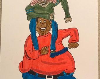 Fat Albert Etsy