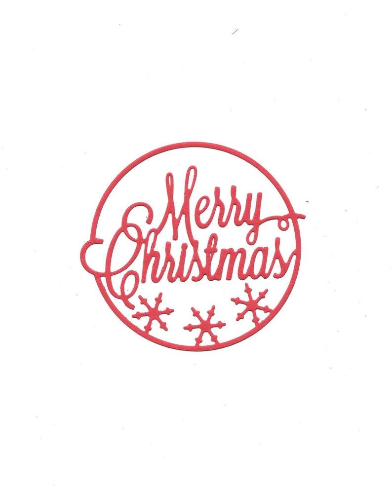 9 x Stanzteile Weihnachten Kartenaufleger Kartenschmuck Scrapbooking Basteln