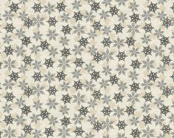 Patchwork Fabric Christmas Skandi Snowflakes Christmas Fabric Pure Cotton Patchwork Sewing Quilting Decoration