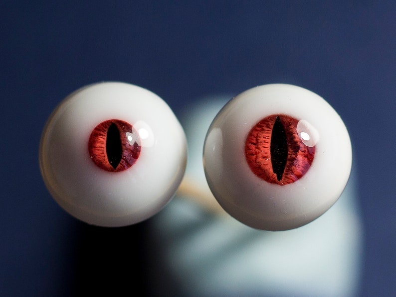 fantasy BJD Eyes 1+1 style as 168 AND 166  funny vampire stroke