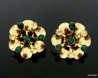 Wunderschöne Ohr Clips Ohrclips  Ohrringe Jugendstil Art Deco silber farben 2 cm