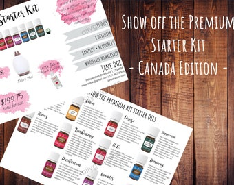 Young Living Premium Starter Kit - Personalized Canada