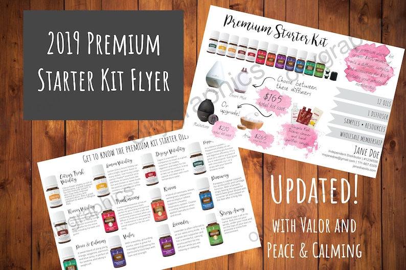 2019 Young Living Premium Starter Kit Flyer  Compliant image 0