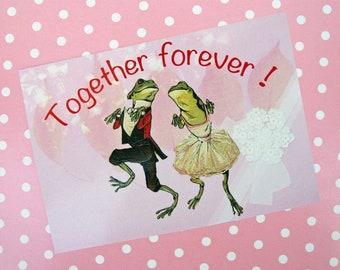 Postkarte Liebe Hochzeit Valentinstag