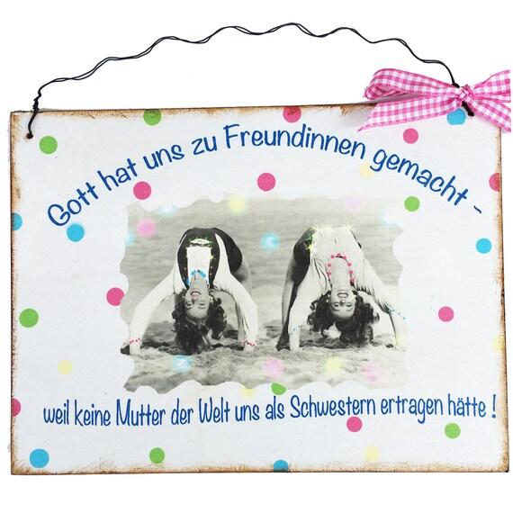 Turschild Dekoschild Spruch Schilder Geschenk Frau Freundin Etsy