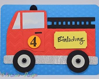 Einladung Kindergeburtstag Etsy