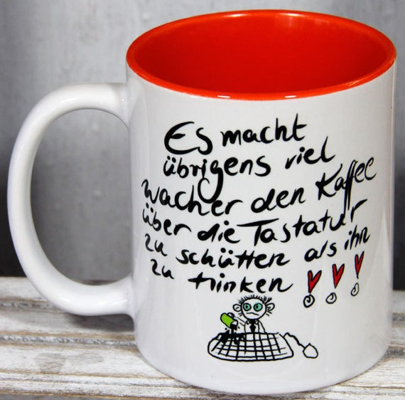 lustige tasse spr chetassen spruch tassen etsy. Black Bedroom Furniture Sets. Home Design Ideas