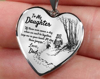Daughters Birthday Unique Jewelry Daughter Father Daughter Necklace Daughter Gift from Dad To My Daughter Gift For Daughter From Dad