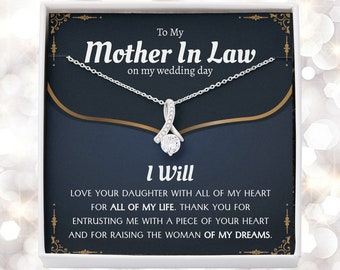 Mother Of The Bride Gift From Groom, Mother In Law Gift on Wedding Day from Groom, Gifts for Mother of the Bride, Future Mother-In-Law