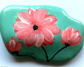 Easter decoration, pebble painted, handpainted stone- painted stone, lucky charm