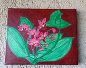 Acrylic paintings on canvas, painting, painting picture, acrylic painting, nature picture, unique picture, floral picture