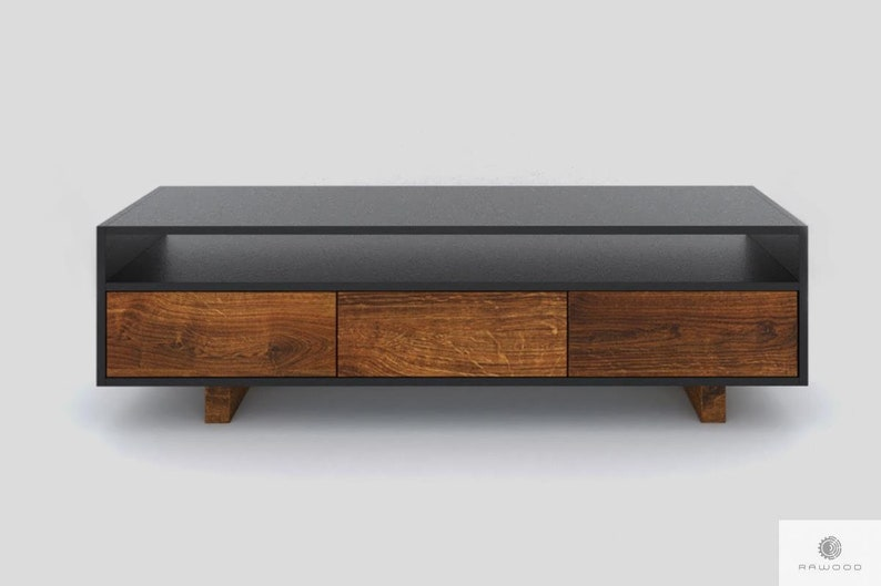 Tv Cabinet Tv Stand Console Living Room Old Wood Laminate Nesca I
