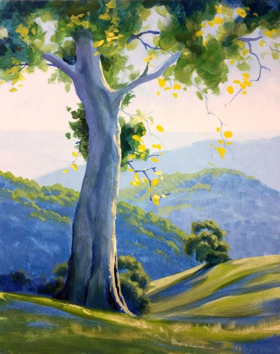 Canvas Landscapes Etsy