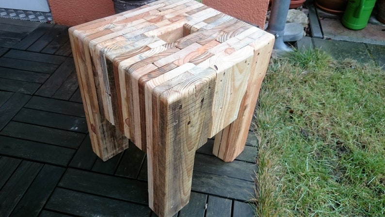 Stool pallets StirnHolz image 0